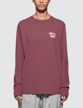 Stussy Dice Pig Dyed Long Sleeve T-shirt Picture
