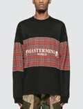 Mastermind World Tartan Check Logo Long Sleeve T-Shirt Picutre