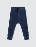 NUNUNU Basic Denim Pants Picutre