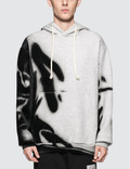 Maison Margiela Black Effect On Grey Hoodie Picture
