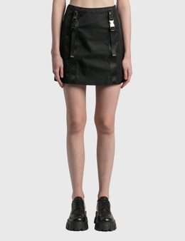 Prada Re-Nylon Gabardine Mini Skirt