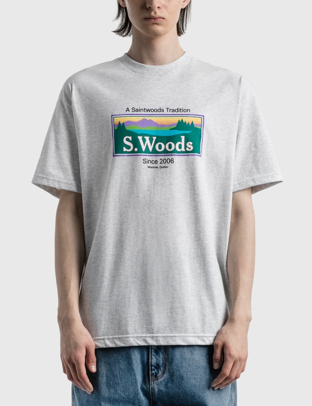 Saintwoods Saintwoods Print T-Shirt