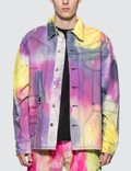 Liam Hodges Spray Dyed Denim Shirt Picutre