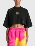 Palm Angels Palm Angels x Missoni Heritage Cropped T-Shirt Picture