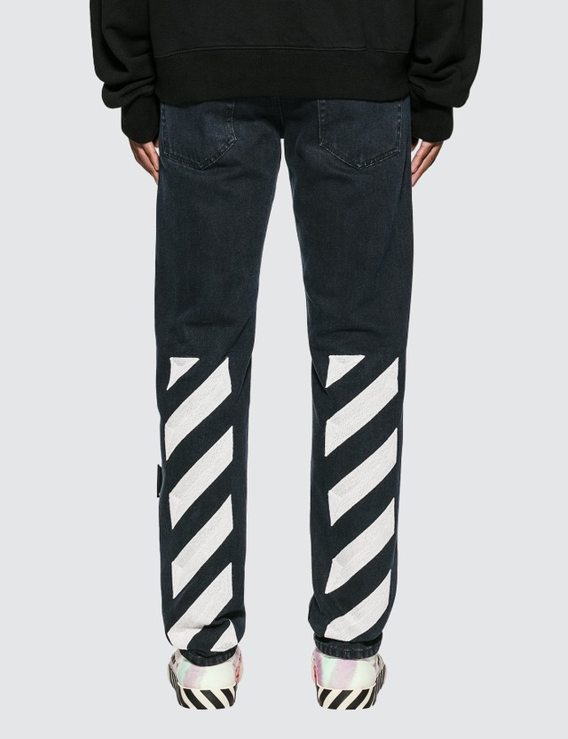 Off-White Diag Eco Slim Jeans
