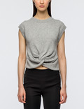 Alexander Wang S/S Twist Front Sweater Picture