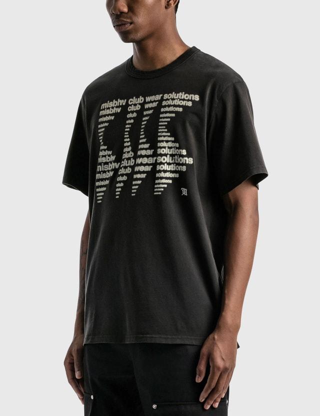 Misbhv Misbhv Club Wear Solutions T-shirt Black Men