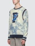 Polo Ralph Lauren Indigo Stadium P-Wing Tie Dye Sweatshirt