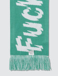 Fuck Art, Make Tees No Dancing. Scarf Apple Green Women
