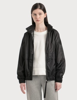 Moncler Lightweight Nylon Jacket With Packable Hood