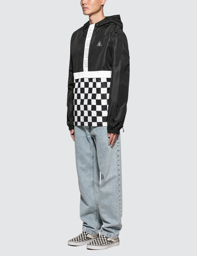 The Quiet Life City Limits Checker Pullover Jacket
