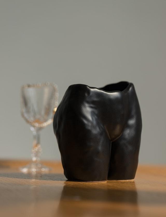Anissa Kermiche Popotin Pot Black Matte Black Matte Unisex