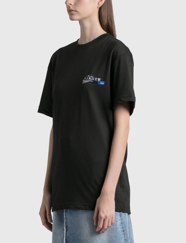 Ader Error Foil Tape Logo T-Shirt Black (black) Women