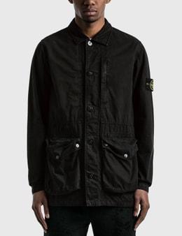 Stone Island Garment Dyed 3 Pockets Jacket