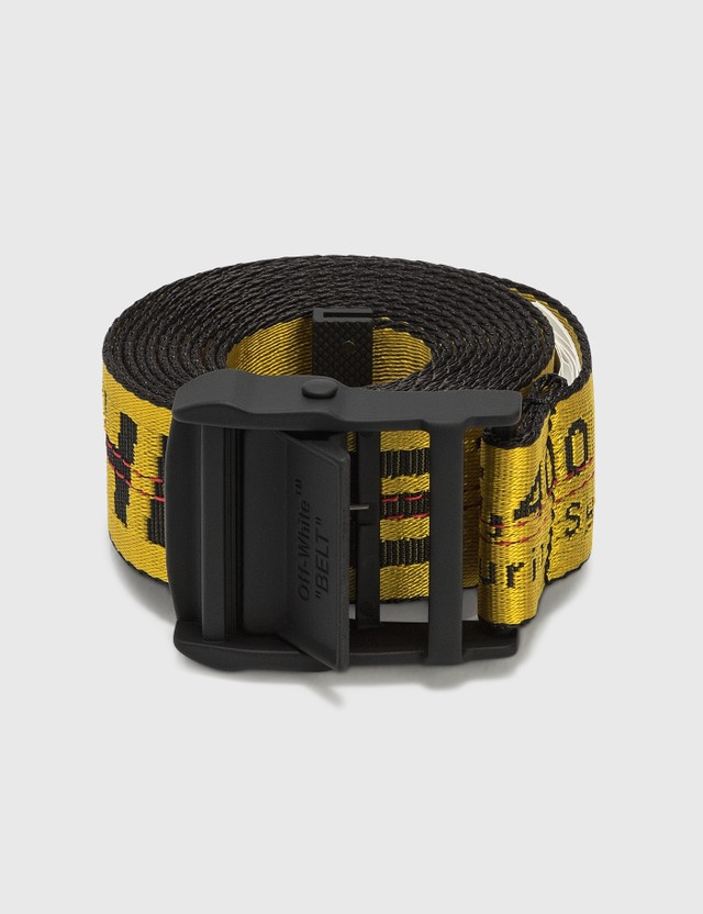 Off-White Classic Industrial Belt Yellow Men