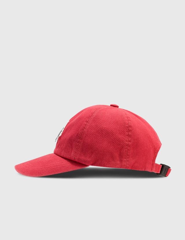 Ader Error Zigzag Patch Cap Red Men