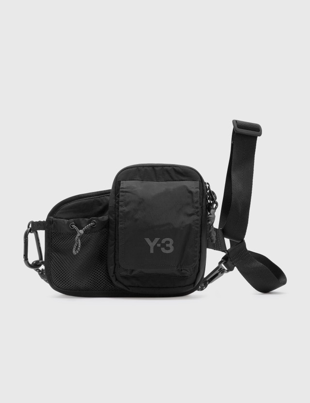 Y-3 CH3 Cord Bumbag Black Men