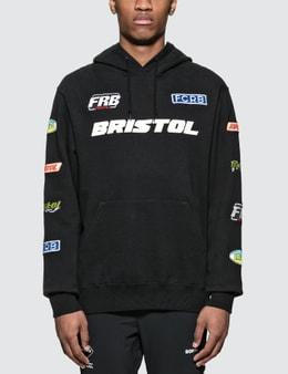 F.C. Real Bristol Multi Logo Pullover Hoodie