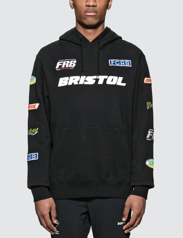 F.C. Real Bristol Multi Logo Pullover Hoodie
