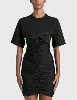 Alexander Wang.T Ruched Bodycon Mini Dress