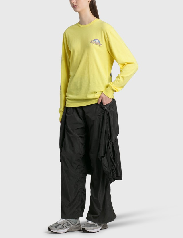 RIPNDIP Minions Long Sleeve T-Shirt Yellow Women