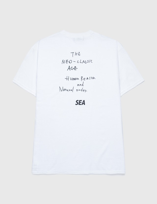Wind And Sea Bulls Photo T-shirt White Men