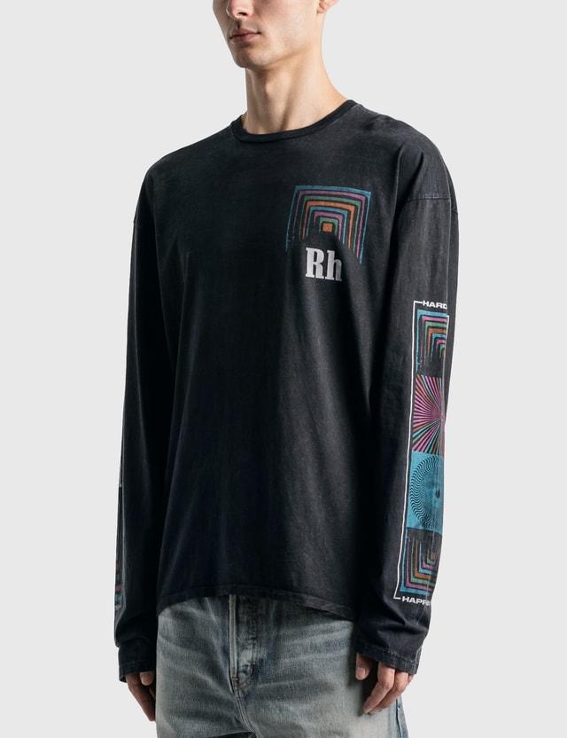 Rhude Box Perspective T-Shirt Black 0015 Men