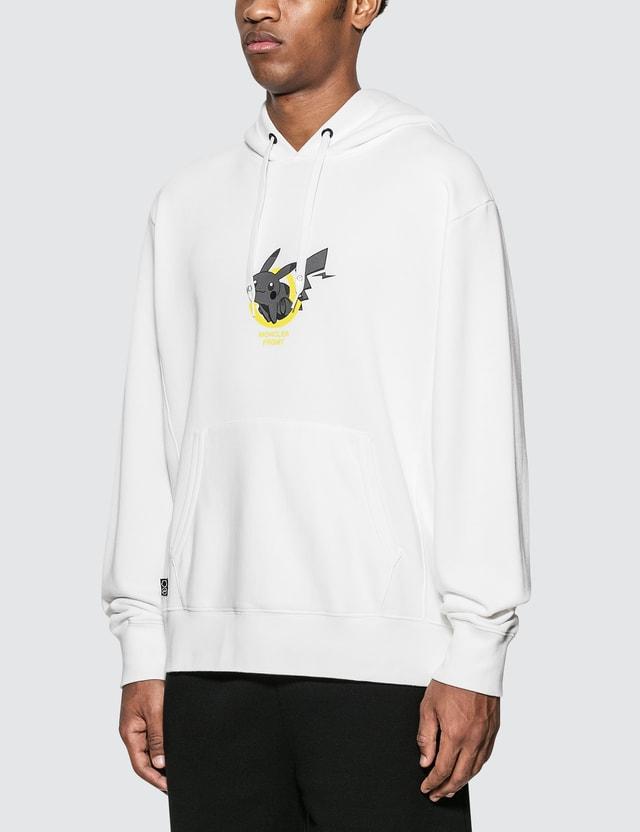 Moncler Genius Moncler Genius x Fragment Design Pikachu Hoodie White Men