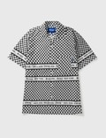 Awake NY Camp Collar Checkerboard Logo Shirtの写真