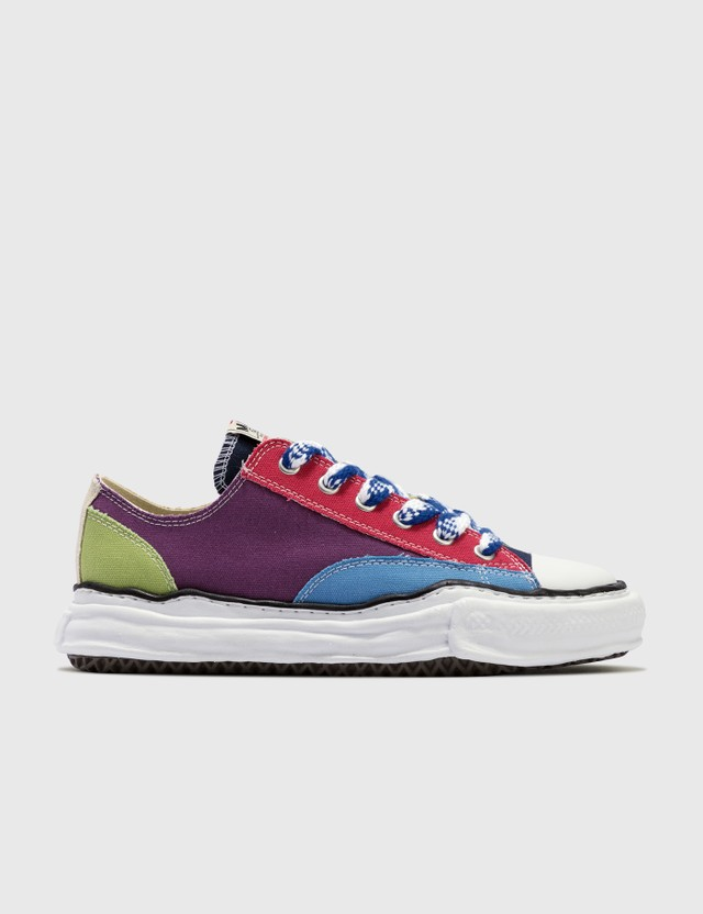 Maison Mihara Yasuhiro Original Sole Multicolor Canvas Low Cut Sneaker Multi Men