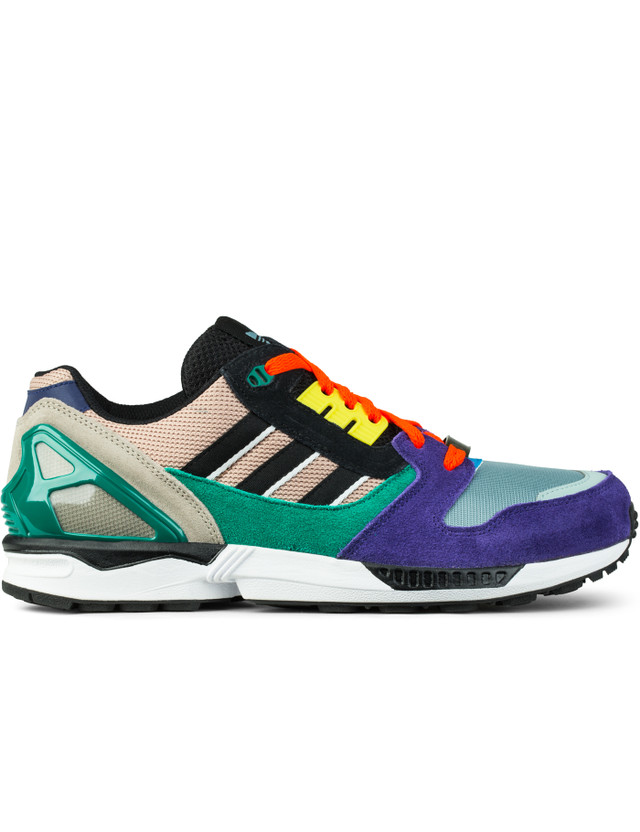 Adidas Originals Dust Pearl S15-st/core Black/sub Green S13 ZX 8000 Sneakers
