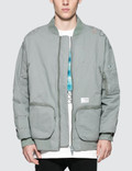 C2H4 Los Angeles Post-War MA-1 Bomber Jacket Picture