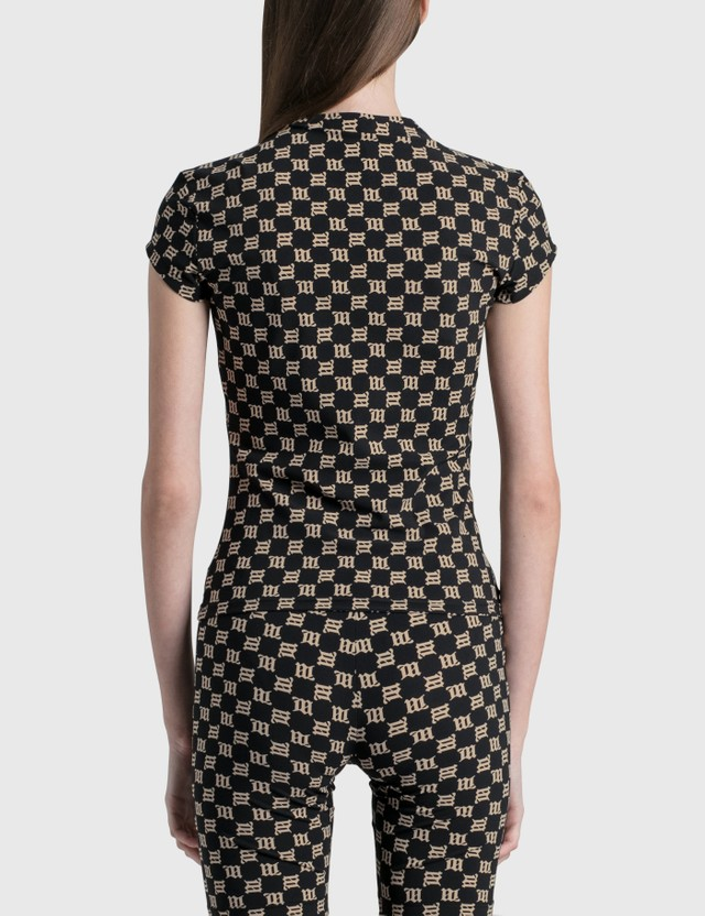 Misbhv Monogram Lara T-shirt Black Women