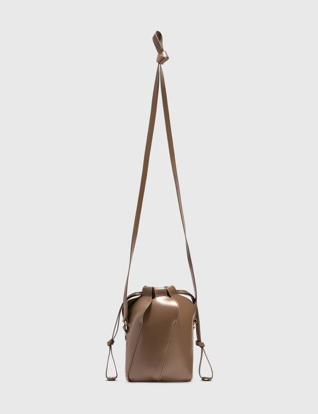 Chloé Tulip Mini Bucket Bag Desert Taupe Women