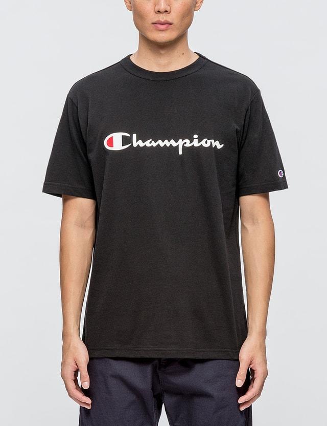 4a606465 Champion Japan - Script Logo S/S T-Shirt | HBX