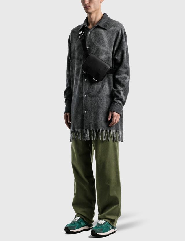 Loewe Anagram Blanket Shirt Grey Men