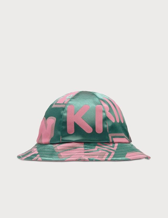 Kirin Kirin Jacquard Cloche Hat Forest Gre Women