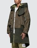 Burberry Nylon Hooded Parka with Detachable Warmer