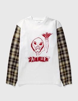 Rassvet Hybrid Check Sleeve T-shirt