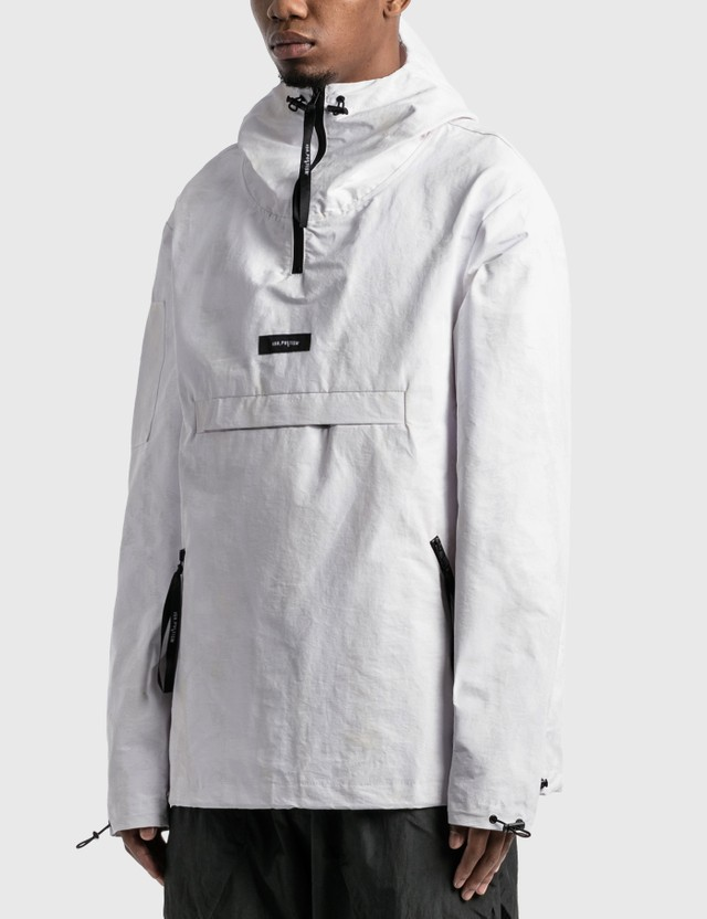 Tobias Birk Nielsen Anorak Jacket White Painted Men
