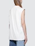 SJYP Logo Font Sleeveless T-Shirt