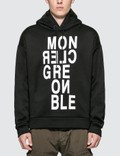 Moncler Moncler Grenoble Letter Print Fleece Hoodie Picture