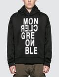 Moncler Moncler Grenoble Letter Print Fleece Hoodie Picutre