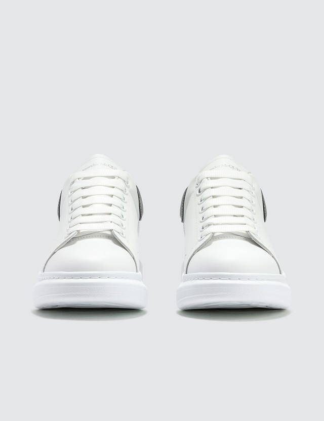 Alexander McQueen Oversized Sneaker With Plastic Heel Counter