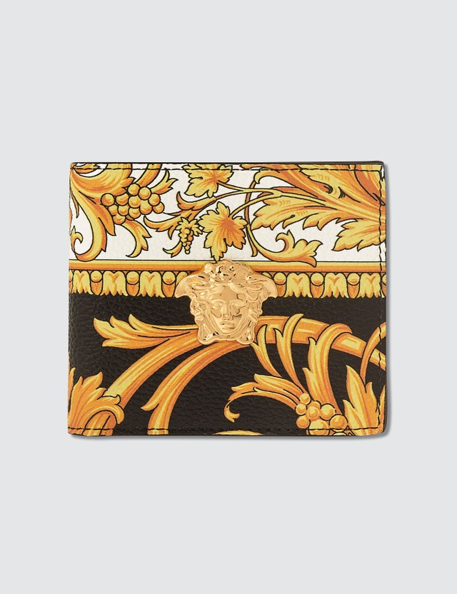 Versace Le Pop Classique Print Bifold Wallet