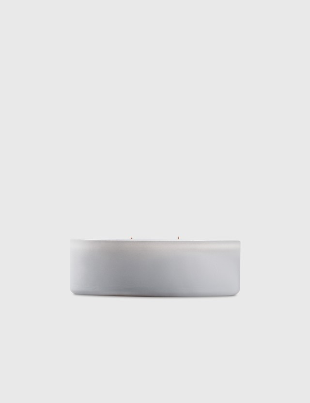 Crosby Studios Gray Candle Collection Bowl