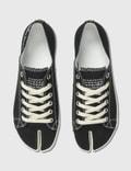 Maison Margiela Tabi Low Top Sneaker Black Men