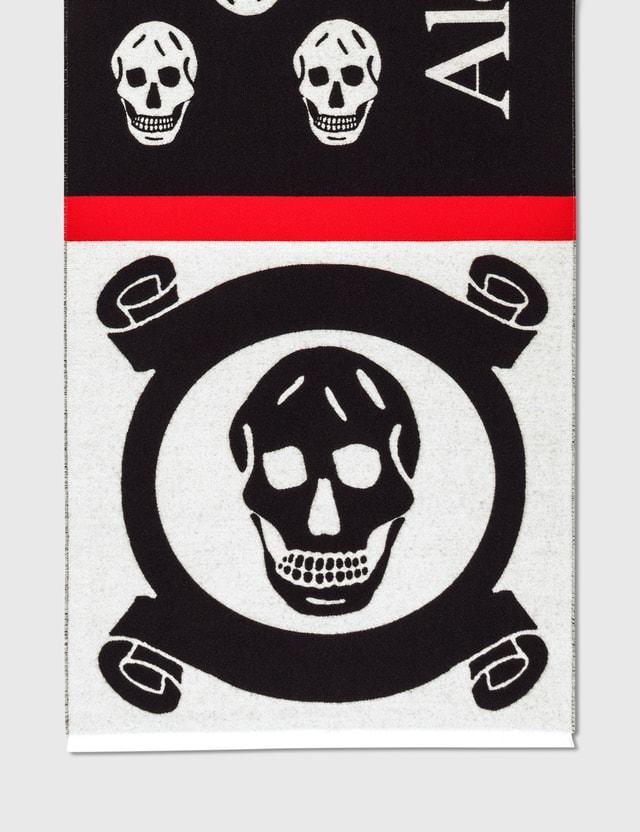 Alexander McQueen Logo Patchwork Scarf