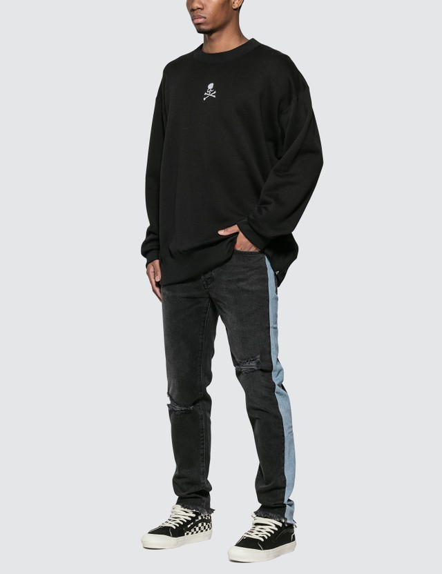 Mastermind World Logo Embroidered Sweatshirt