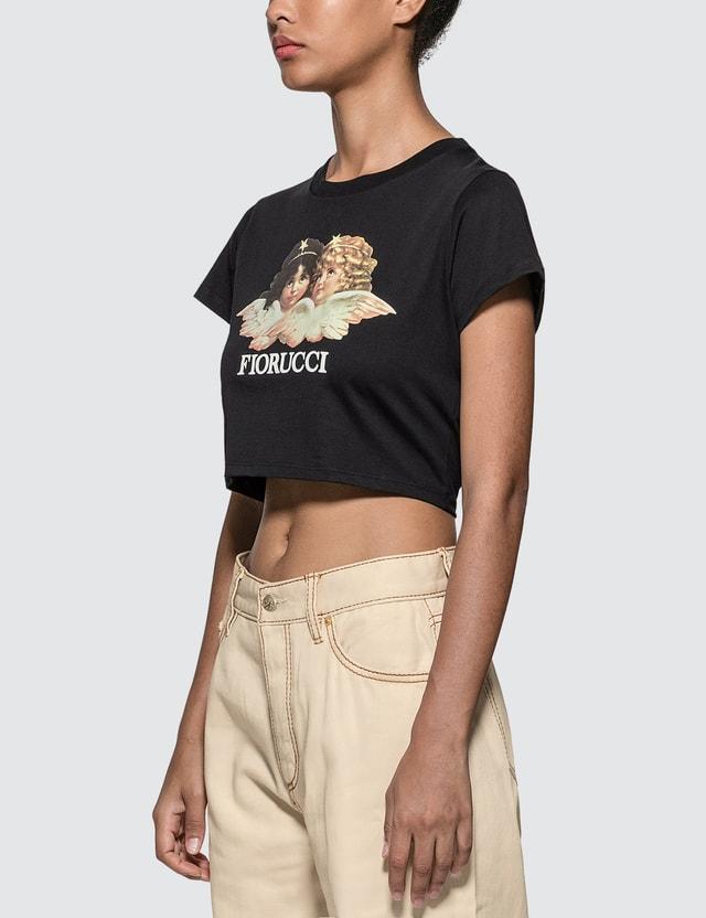 Fiorucci Vintage Angels Cropped T-shirt